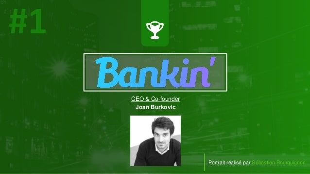 CEO & Co-founder Joan Burkovic Portrait réalisé par Sébastien Bourguignon