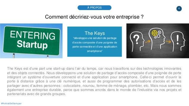 """4 The Keys """"développe une solution de partage d'accès composée d'une poignée de porte connectée et d'une application smart..."""