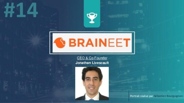 CEO & Co-Founder Jonathan Livescault Portrait réalisé par Sébastien Bourguignon