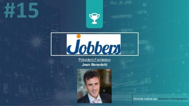 Président Fondateur Jean Benedetti Portrait réalisé par Sébastien Bourguignon