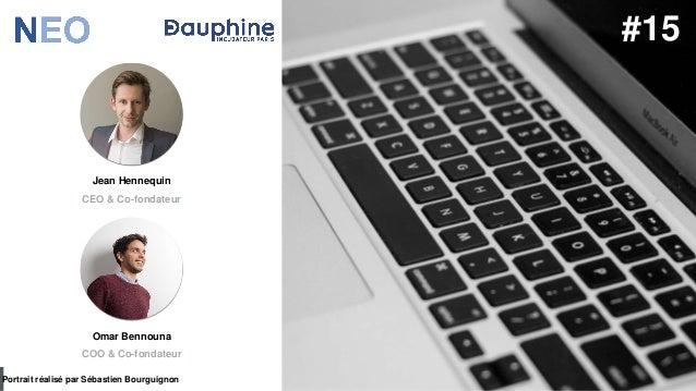 #PortraitDeStartuper par Sébastien Bourguignon Jean Hennequin CEO & Co-fondateur Portrait réalisé par Sébastien Bourguigno...