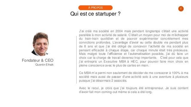 #PortraitDeStartuper #18 - BuisnessWidg - Quentin Elhaik Slide 2