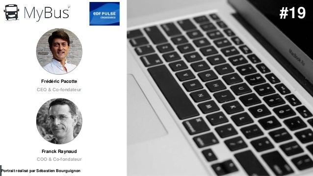 #PortraitDeStartuper par Sébastien Bourguignon Frédéric Pacotte CEO & Co-fondateur Portrait réalisé par Sébastien Bourguig...