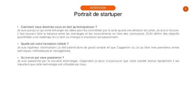 #PortraitDeStartuper #20 - TutoBrain - Sébastien Aucher Slide 3