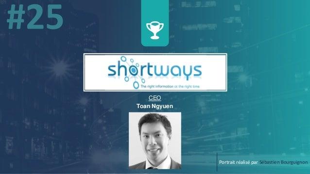CEO Toan Ngyuen Portrait réalisé par Sébastien Bourguignon