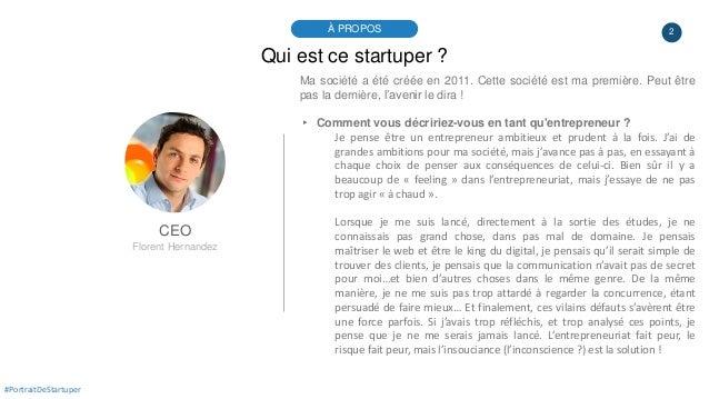 #PortraitDeStartuper #25 - Sociallymap - Florent Hernandez Slide 2