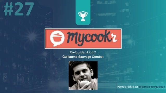 Co-founder & CEO Guillaume Sauvage Combat Portrait réalisé par Sébastien Bourguignon