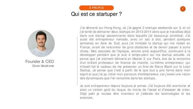 #PortraitDeStartuper #27 - Olivier Malafronte - PocketConfidant Slide 2