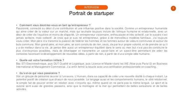 #PortraitDeStartuper #27 - Olivier Malafronte - PocketConfidant Slide 3