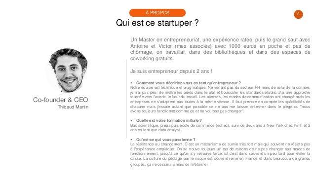 #PortraitDeStartuper #28 - Thibaud Martin - Jubiwee Slide 2