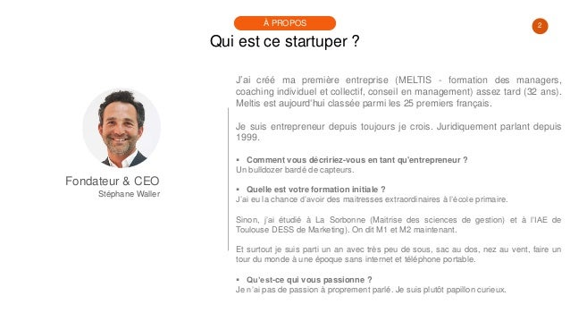 #PortraitDeStartuper #29 - Stéphane Waller - Bleexo Slide 2