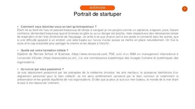 #PortraitDeStartuper #30 - Lionel Pasco - Perfony Slide 3