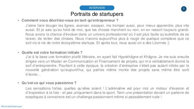 #PortraitDeStartuper #32 - dokBody - Laurène Corbière Slide 3