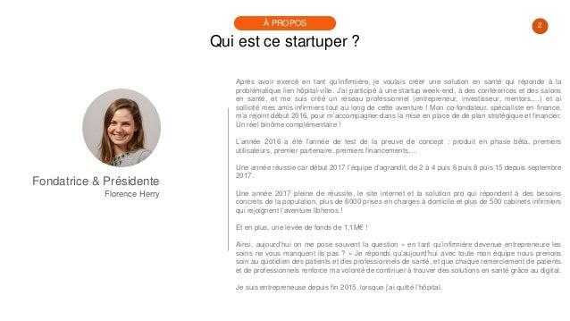 #PortraitDeStartuper #33 - Florence Herry - Libheros Slide 2