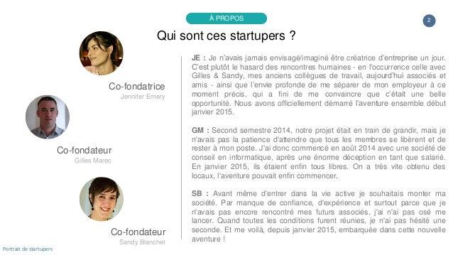 Portrait de startuper #33 - Keeppe - Gilles Marec - Jennifer Emery - Sandy Blanchet Slide 2