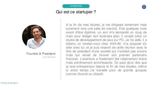 Portrait de startuper #34 - Lucky Cart - Cyril Marchal Slide 2