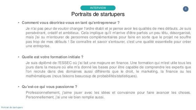 Portrait de startuper #34 - Lucky Cart - Cyril Marchal Slide 3
