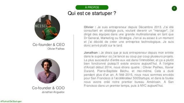 #PortraitDeStartuper #36 - Aircall - Jonathan Anguelov - Olivier Pailhes Slide 2