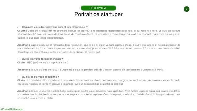 #PortraitDeStartuper #36 - Aircall - Jonathan Anguelov - Olivier Pailhes Slide 3