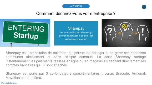 """4 Sharepay """"est une solution de paiement qui permet de partager et de gérer ses dépenses communes"""" Sharepay est une soluti..."""