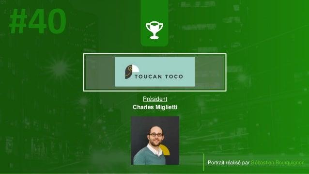 #PortraitDeStartuper Portrait réalisé par Sébastien Bourguignon Président Charles Miglietti