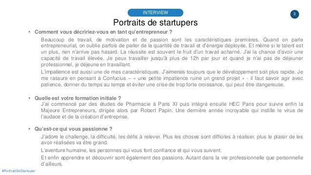 #PortraitDeStartuper #42 - TAO Services - Laurence Rimbeuf Slide 3