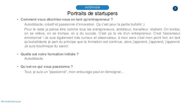 #PortraitDeStartuper #43 - WeAssur - Olivier Torres Slide 3
