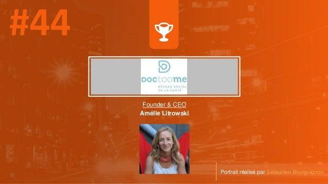 Founder & CEO Amélie Litrowski Portrait réalisé par Sébastien Bourguignon