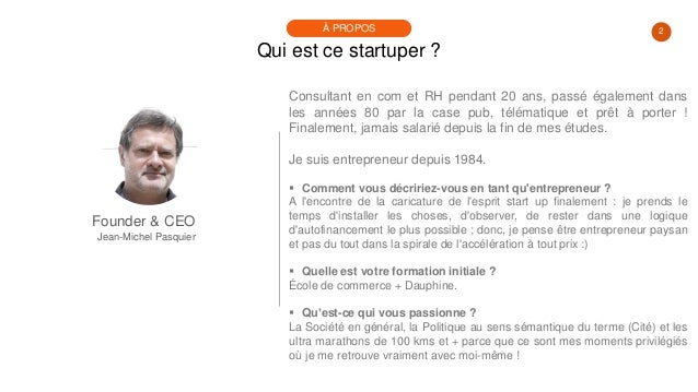 #PortraitDeStartuper #46 - Jean-Michel Pasquier - Koeo Slide 2