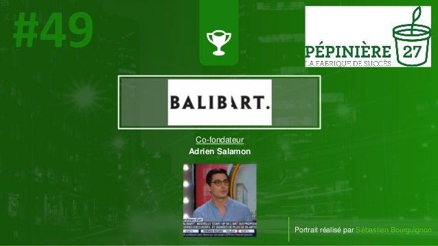 #PortraitDeStartuper Portrait réalisé par Sébastien Bourguignon Co-fondateur Adrien Salamon