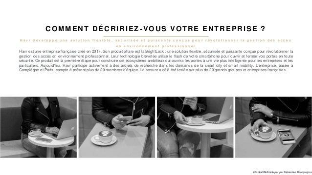 #PortraitDeStartuper #52 - Havr - Simon Laurent Slide 3