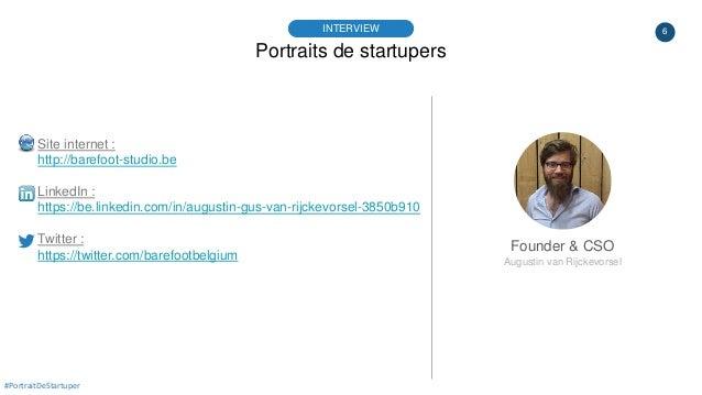 6 Portraits de startupers INTERVIEW Founder & CSO Augustin van Rijckevorsel #PortraitDeStartuper Site internet : http://ba...