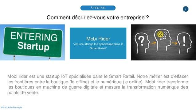 """3 Mobi Rider """"est une startup IoT spécialisée dans le Smart Retail"""" Mobi rider est une startup IoT spécialisée dans le Sma..."""