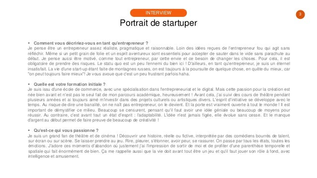 #PortraitDeStartuper #58 - Maxime Delmotte - Panopli Slide 3