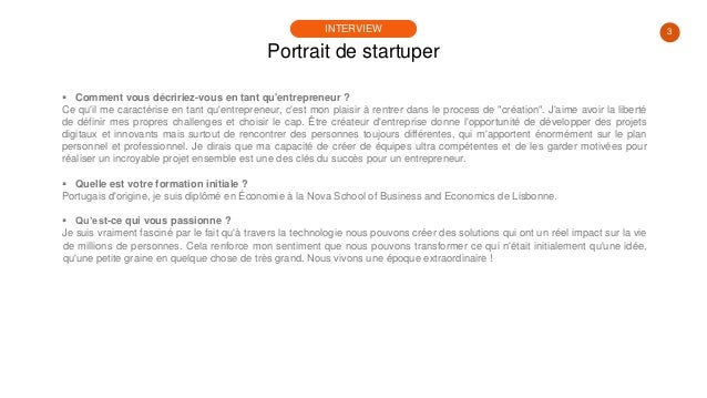 #PortraitDeStartuper #59 - Joao Cardoso - Lovys Slide 3