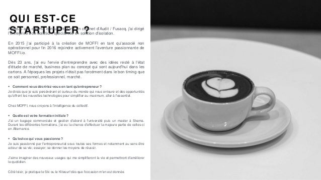 #PortraitDeStartuper #60 - Moffi - Arnaud Coisne Slide 2