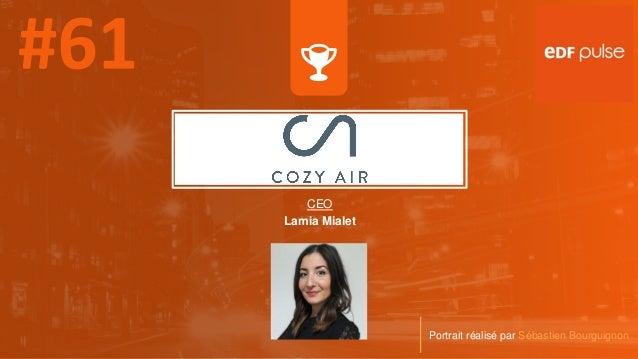 CEO Lamia Mialet Portrait réalisé par Sébastien Bourguignon