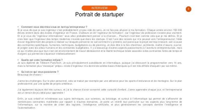 #PortraitDeStartuper #68 - Antoine Poliakov - Data4Job Slide 3