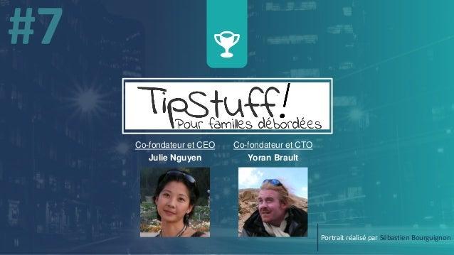 Co-fondateur et CTO Yoran Brault Portrait réalisé par Sébastien Bourguignon Co-fondateur et CEO Julie Nguyen