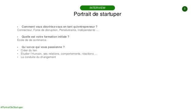 #PortraitDeStartuper #72 - We Sport You - Marjory Malbert Slide 3