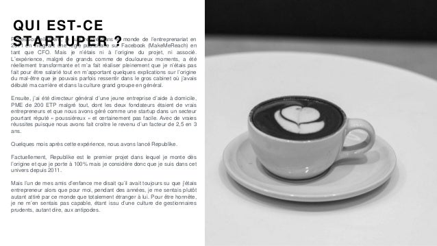 #PortraitDeStartuper #75 - Republike - Etienne de Sainte Marie Slide 2