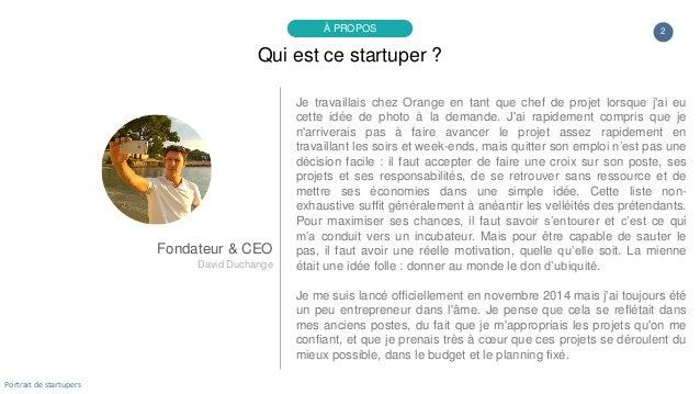 Portrait de startuper #76 - Yoobiquity - David Duchange Slide 2