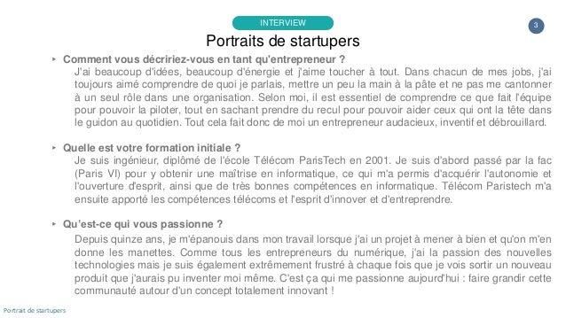 Portrait de startuper #76 - Yoobiquity - David Duchange Slide 3