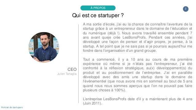 A ma sortie d'école, j'ai eu la chance de connaître l'aventure de la startup grâce à un entrepreneur dans le domaine de l'...