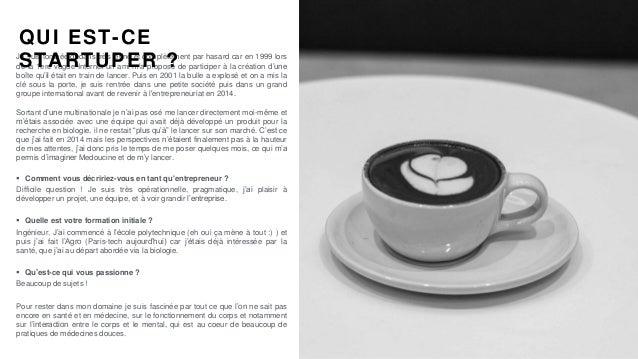 #PortraitDeStartuper #77 - Medoucine - Solange Arnaud Slide 2
