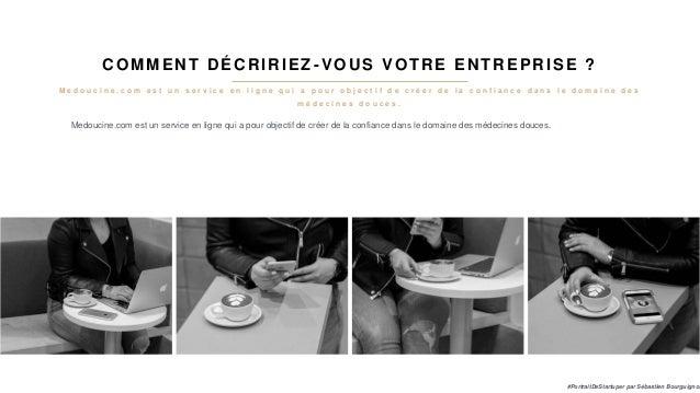 #PortraitDeStartuper #77 - Medoucine - Solange Arnaud Slide 3