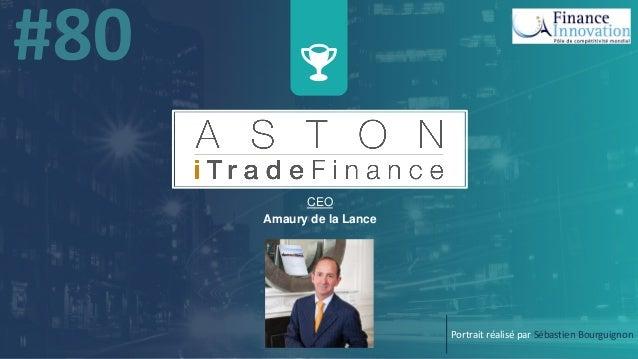 x w CEO Amaury de la Lance Portrait réalisé par Sébastien Bourguignon
