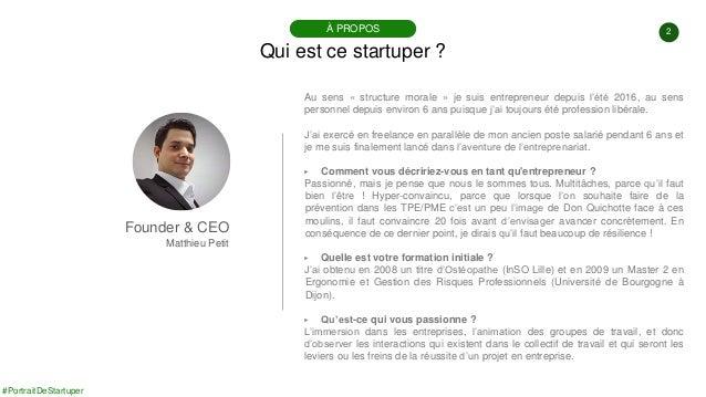 #PortraitDeStartuper #83 - EOSE - Matthieu Petit Slide 2