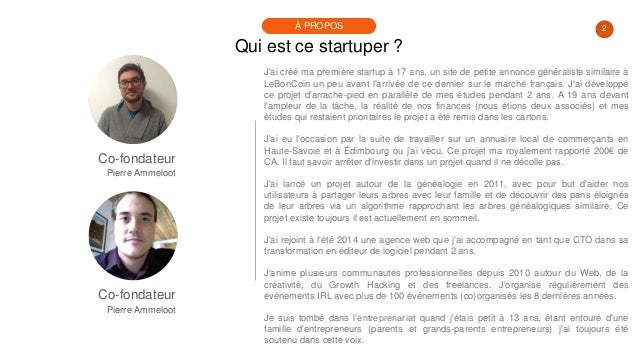 #PortraitDeStartuper #83 - Jérémie Deruette & Pierre Ammeloot - 0Click Meeting Slide 2
