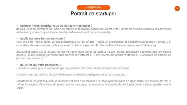 #PortraitDeStartuper #83 - Jérémie Deruette & Pierre Ammeloot - 0Click Meeting Slide 3